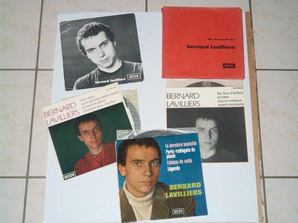 ENVELOPPE  PROMO  3 VINYLES AVEC LANGUETTES ET SA PHOTO  1967