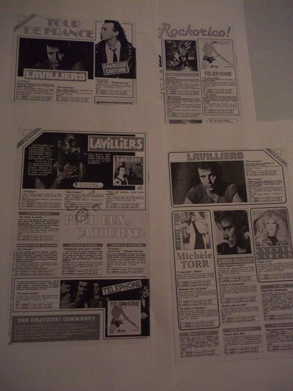 "PUB  ""REVUES DIALOSCOPE 1983 "" merci a mon ami didier"