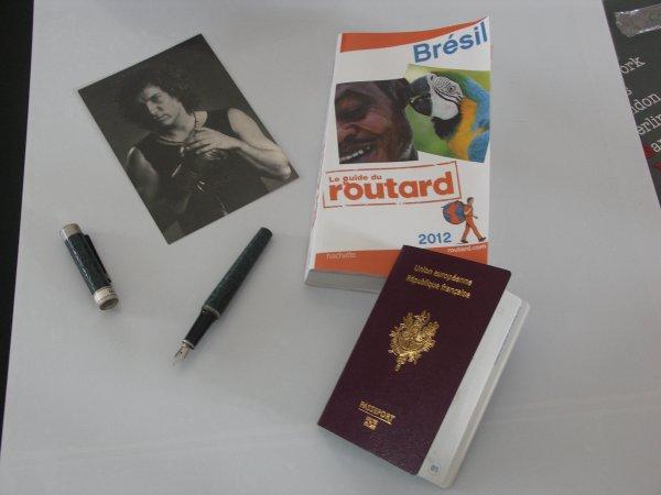 preparo a minha viagem para o Brasil