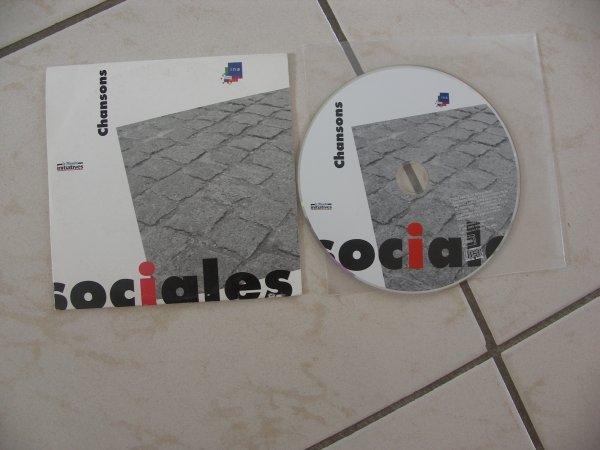 """CD PROMO POUR LE JOURNAL LE MONDE DE JANVIER 2005  POUR LES 30 ANS DE L'INA """"BERNARD LAVILLIERS PRESENTE UN TEXTE DE GASTON COUTE"""""""