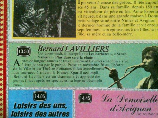 magazine janvier 1977