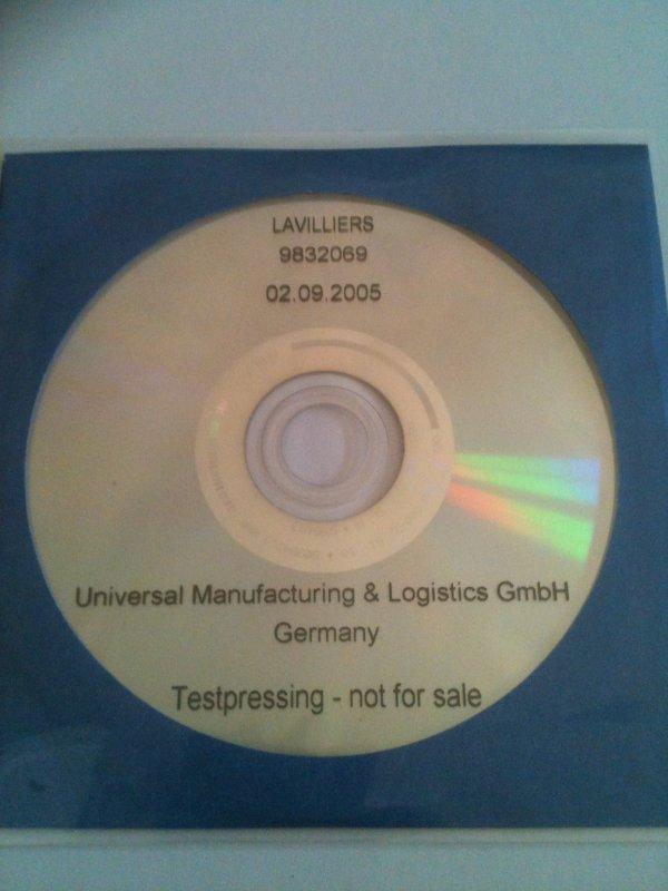 rare DVD test pressing Bernard Lavilliers : Americas (Reportage de 52'49) + 8 Clips