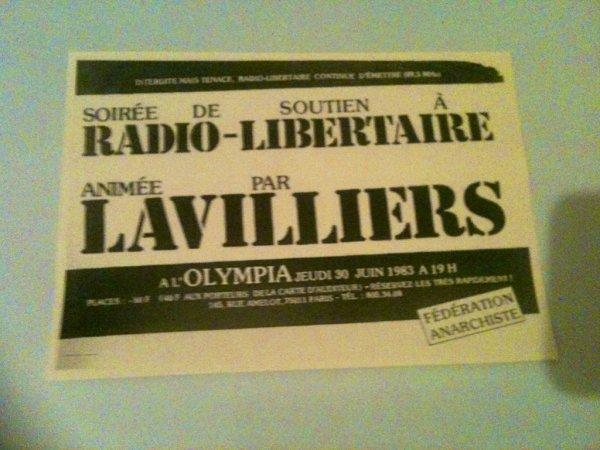 bernard lavilliers superbes affichettes 1983