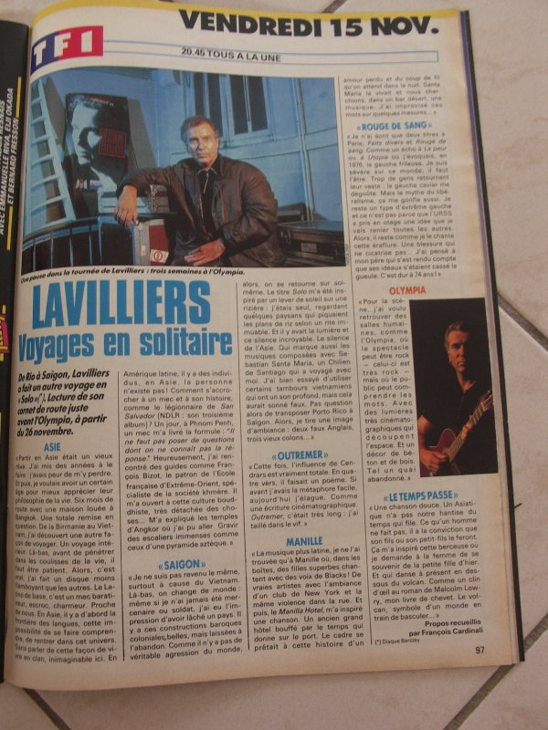 ARTICLE MAGAZINE  1991