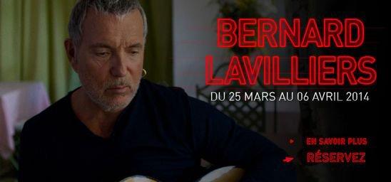 Bernard Lavilliers sera à l'Olympia du 25 mars au 6 avril 2014 pour une série de concerts.son prochain album sortira en novembre 2013