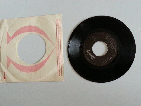 voici le très rare 45t  promo pressage du pérou  1980  titres: rock city/la salsa