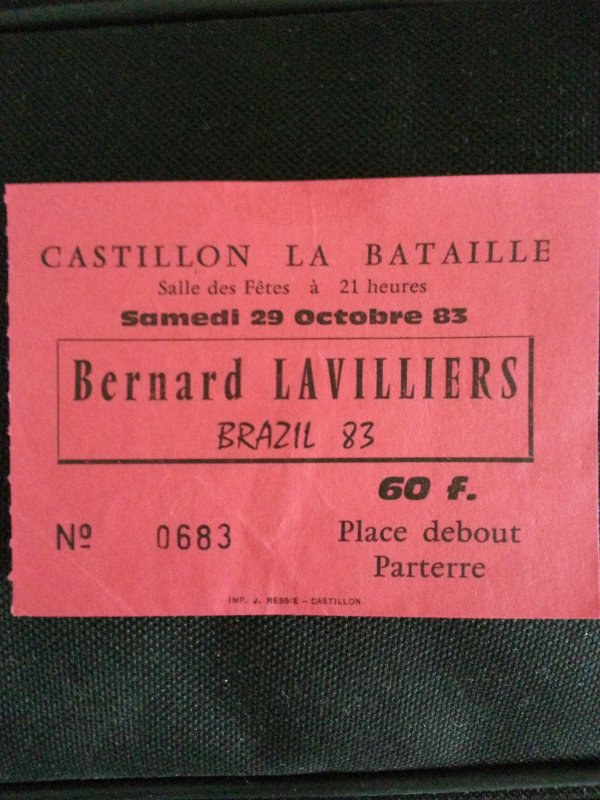billet octobre 1983