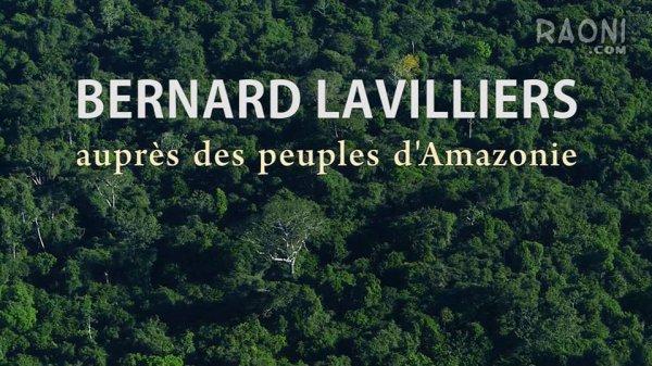 bernard lavilliers pour l'amazonie le 5 novembre sur youtube !!!!