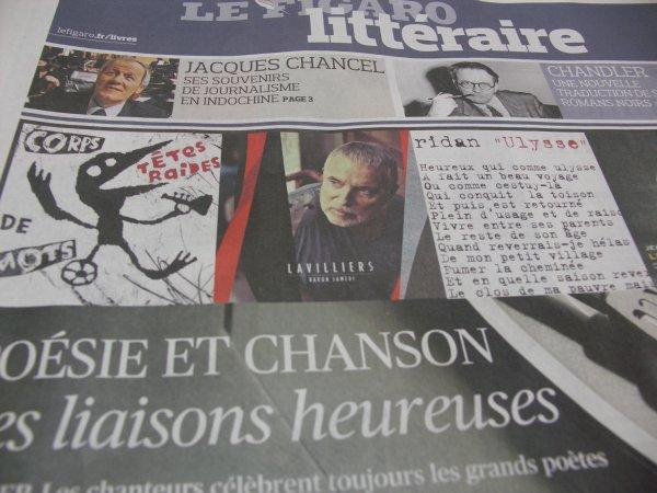 article de presse de ce jour 5/12/2013 (merci didier pour l'info)