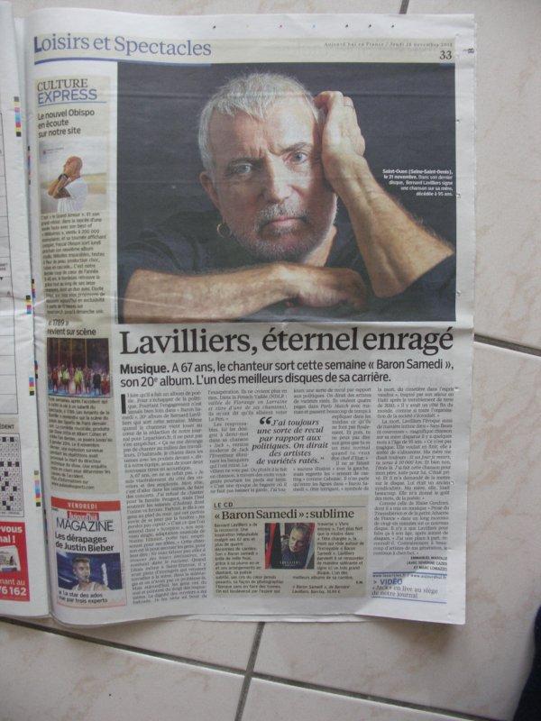 bel article de presse (merci a mon ami didier )