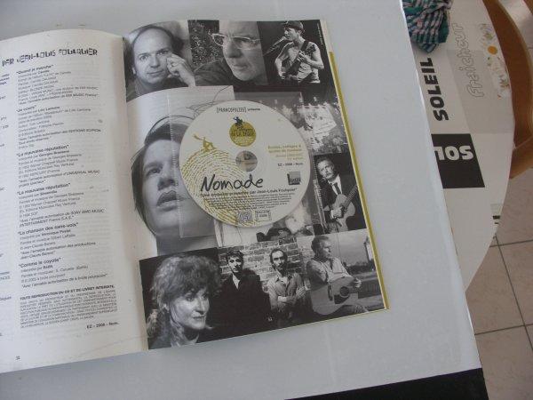 """rare magazine avec son cd """"les enfants de la zique hors commerce """""""