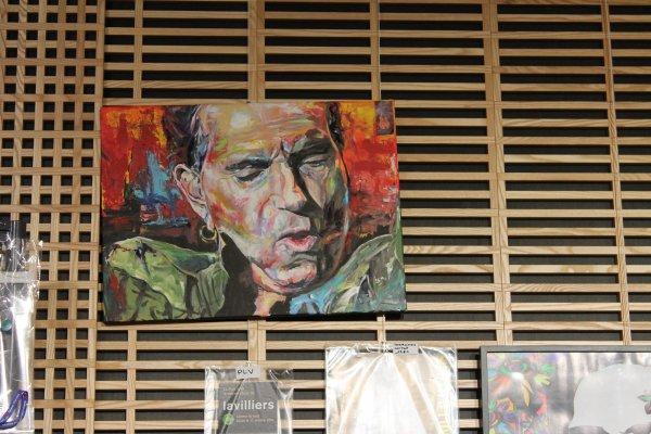 photos expo bernard  lavilliers  et le musée du rock de la rochelle