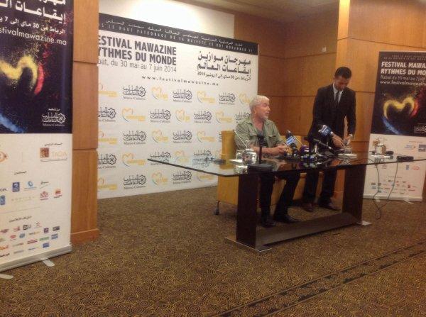 bernard lavilliers interview avant concert au maroc