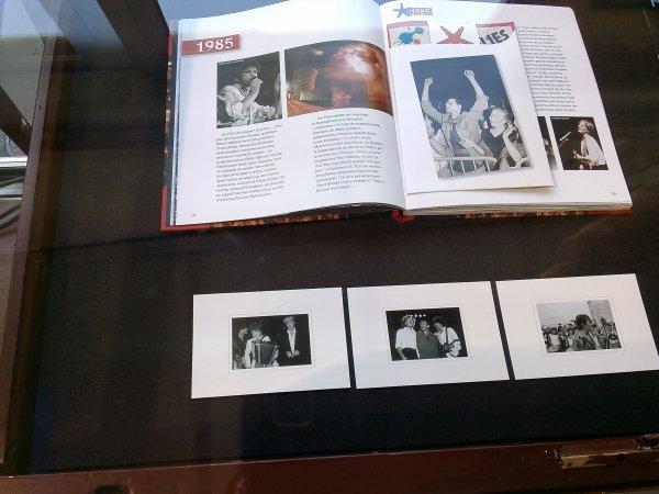 """photos belle expo des """" 30 ans des francofolies """" aujourd'hui 10 juillet 2014"""