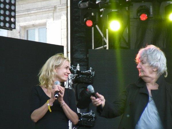 jacques higelin et sandrine bonnaire en duo en répétition grandiose !!!! 30 ans des francos