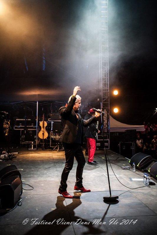 bernard lavilliers et ses musiciens a l'île d'yeu
