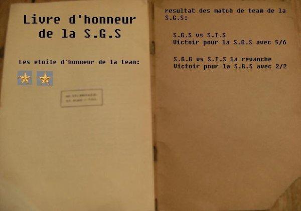 livre d'honneur