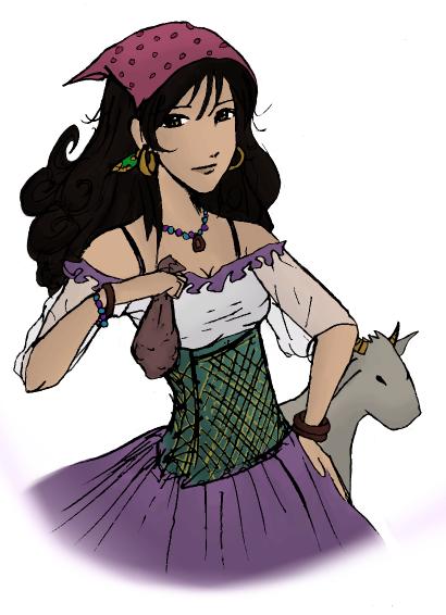 Je le dit , Je le fait : Esmeralda