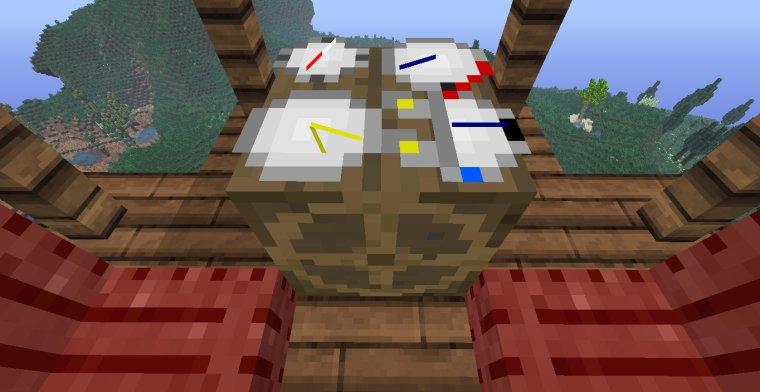 Minecraft mod : La montgolfière opérationnel