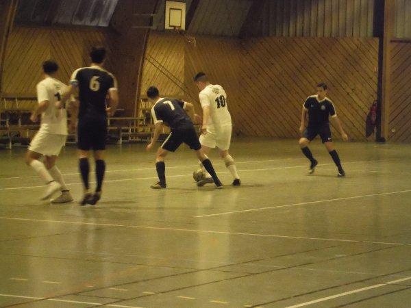 8ème Match de Championnat Régional 1 Futsal: CSA Doullens - Compiègne 20/01/18