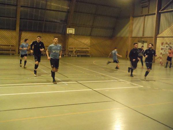 9ème Journée de Championnat Division 1: Csa Doullens B - New Team 29/01/18