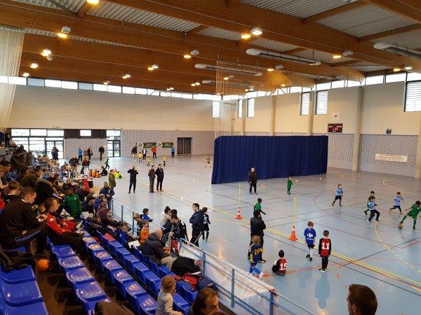 Tournoi Futsal U6 - U7 de Blangy Tronville à Amiens 03/02/18