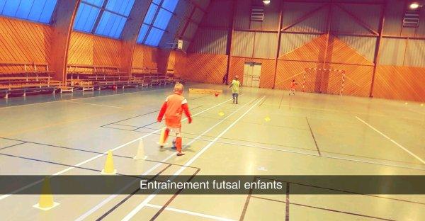 Entrainement Futsal Enfants 05/02/18