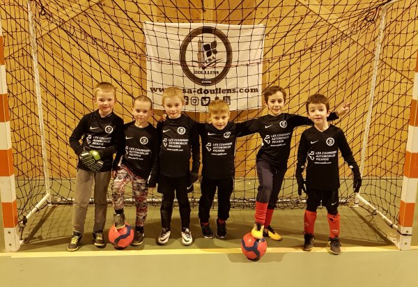 Match Amical Futsal U7: Csa Doullens - Talmas 12/02/18