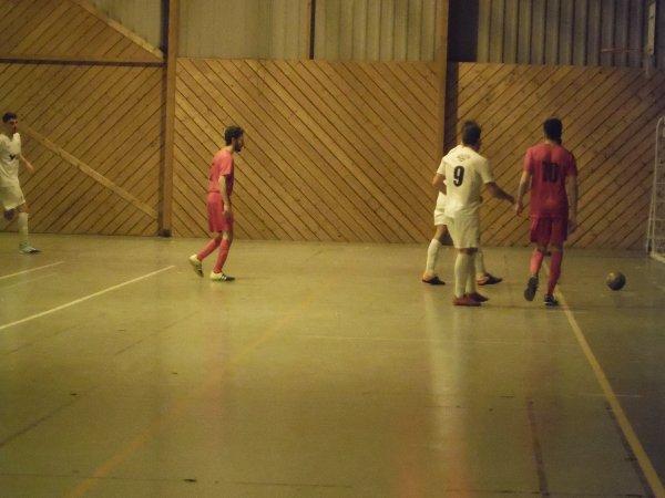10ème Match de Championnat Régional 1 Futsal: CSA Doullens - Etouvie 19/02/18