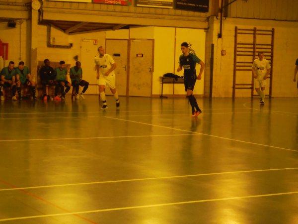 12ème Match de Championnat Régional 1 Futsal: Cambronne - CSA Doullens 17/03/18