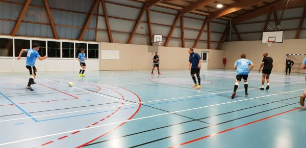 Match Amical Futsal: CSA Doullens 2 - Cagny 2  27/09/18