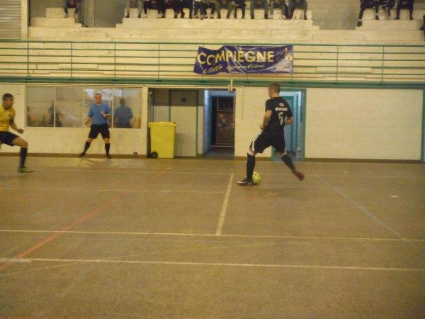 J2 R2 Futsal: Compiègne B - Csa Doullens  12/10/18