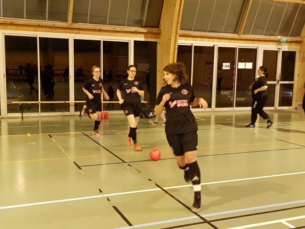 Match Amical Futsal Féminin : CSA Doullens - Querrieu 29/11/18