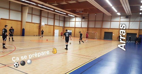Match amical à Servins 08/01/19
