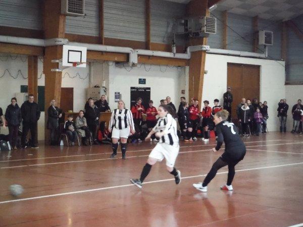 J1 Championnat Futsal Féminin à Candas 13/01/19