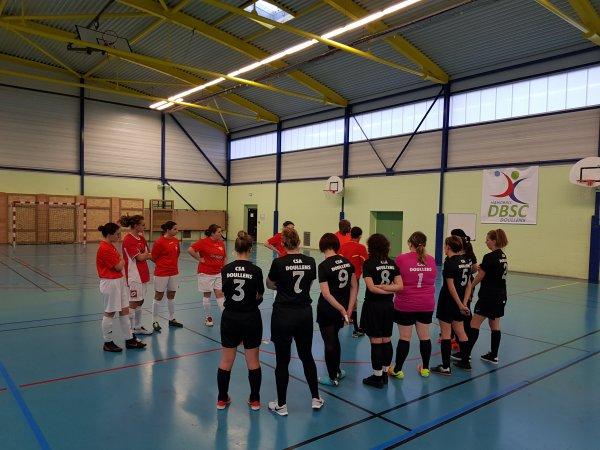 J2 Championnat futsal féminin 27/01/19 à Doullens