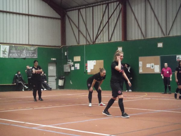 J3 Championnat futsal féminin à Cayeux contre Auxiloise 02/02/19