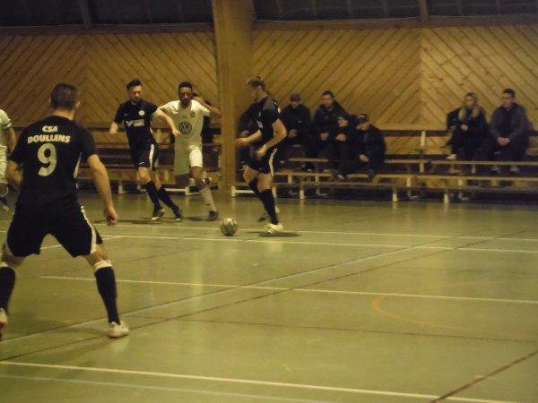 1/4 de Coupe de Somme Futsal : CSA Doullens - Amiens Réal 04/03/19