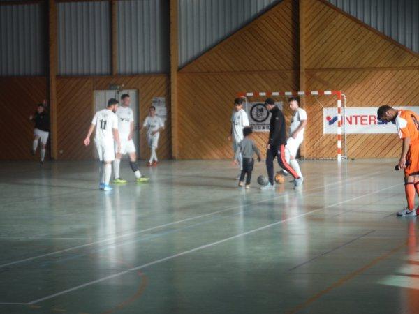 2ème Tour Coupe de France Futsal: CSA Doullens - Courcelles Academy 26/10/19