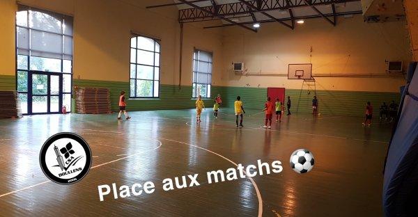 Stage Futsal Enfants 29/10/19