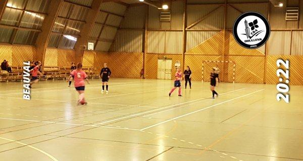 Match Amical Futsal Féminin: CSA Doullens - Albert USOAAS 28/11/19