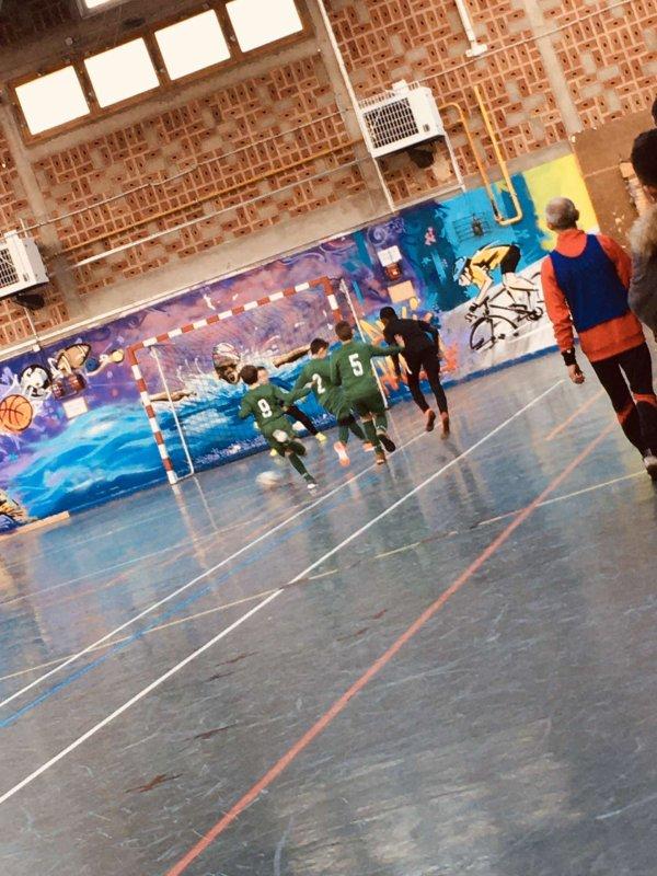 Tournoi futsal u10u11 Auxi le Chateau 14/12/19