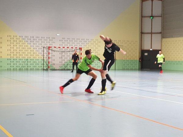 3ème Match Futsal FCD: CSLG Beauvais - CSA Doullens 18/12/19