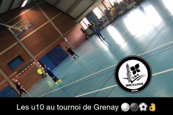 Tournoi futsal u10u11 Grenay 29/12/19