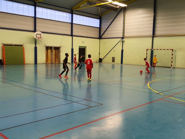 Tournoi Futsal U10U11 du CSA Doullens 04/01/20