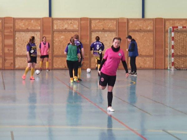 J2 Championnat Futsal Féminin: CSA Doullens - Ailly sur Noye 19/01/20
