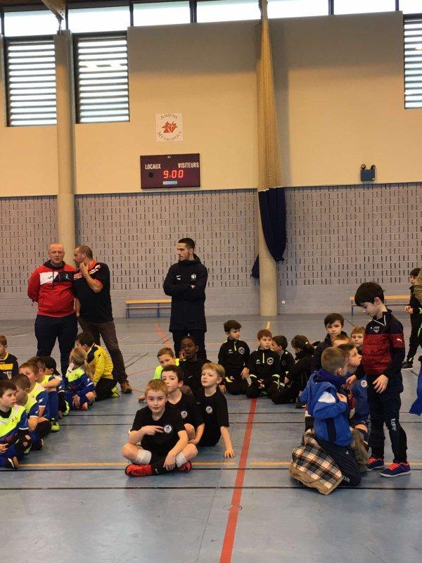 Tournoi futsal u8u9 de Blangy Tronville à Amiens 25/01/20