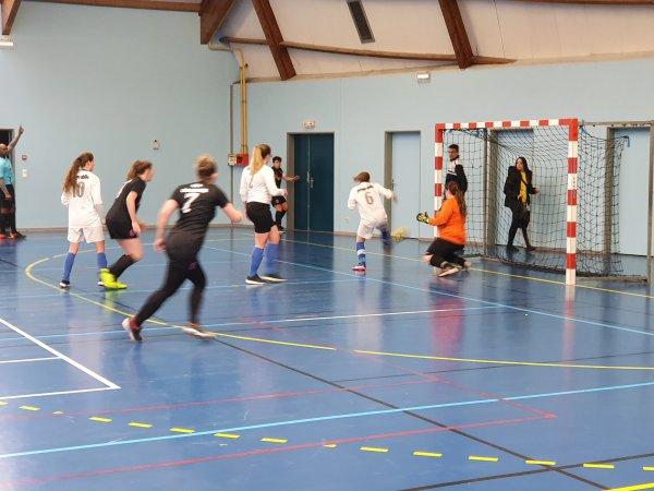 J3 Championnat Futsal Féminin: Amiens Porto - CSA Doullens 26/01/20