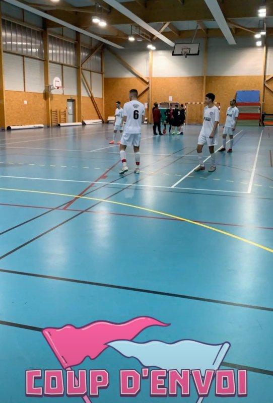 6ème Match Futsal FCD: Csa VaubanLille - Csa Doullens 17/02/20