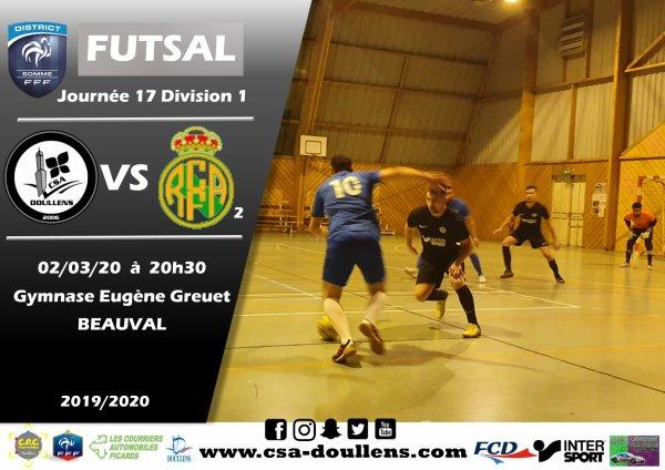 J17 D1: CSA Doullens - Amiens Réal B 02/03/20